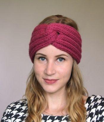 knit headband pattern free knitted headband patterns | omg! heart » free knitting patterns HQKQUWR