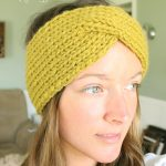 Popular knit headband pattern