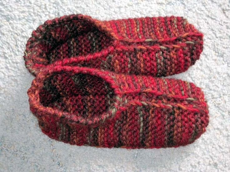 knit slippers knitted slipper patterns for adults | adult slippers knitting pattern. -  crafts - free DMKDDOS