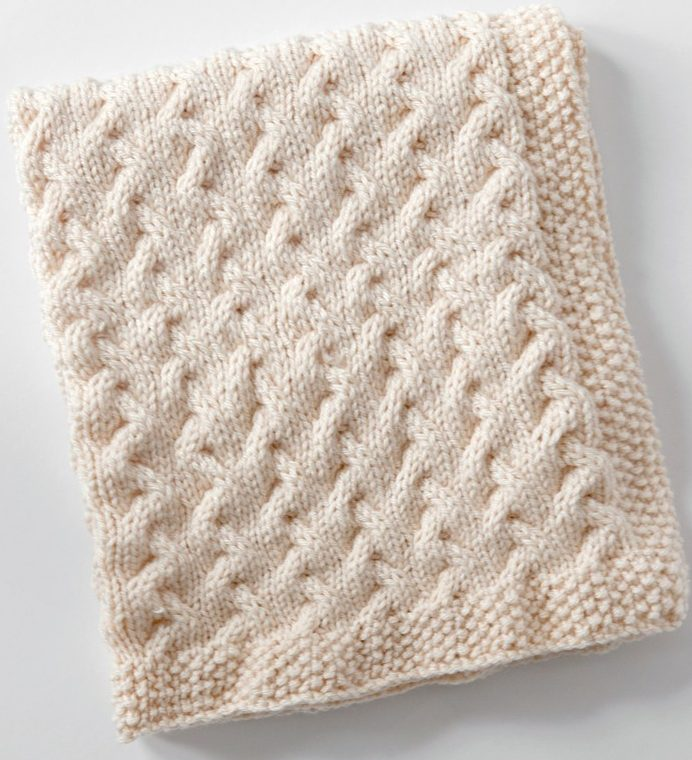 knitted baby blankets free knitting pattern for tiny ripples baby blanket NQOAKHB