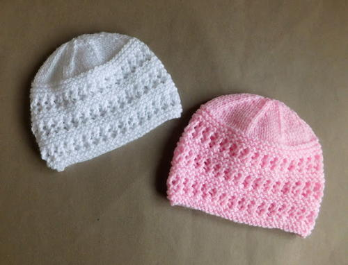 knitted baby hats two baby hat knitting patterns NYRDWXX