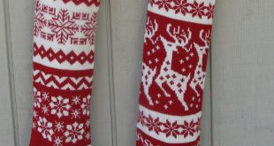 knitted christmas stockings knitted christmas stocking patterns | ... red white stockings knit  christmas stockings red white IVSOJIA