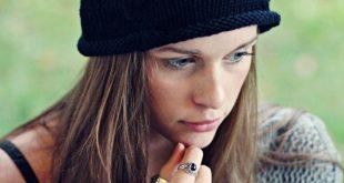 knitted hat patterns black beanie free knitting pattern CJKAXFY