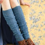 A warm feeling around the legs with knitted leg warmers
