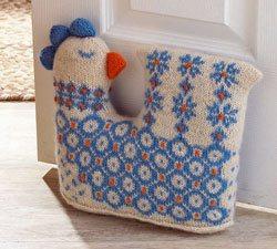 Knitting Gifts oluffa doorstop, faroe islands ERZVDZT