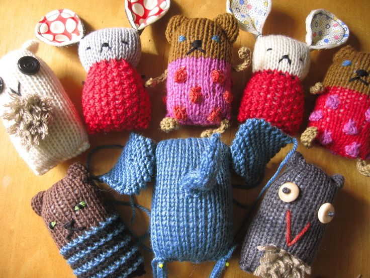 Knitting Ideas cute-knitting-ideas-for-kids-knitted-softies-in- DSGQKOB