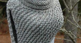 Knitting Ideas knitting pattern - katniss cowl huntress vest FGCLICJ