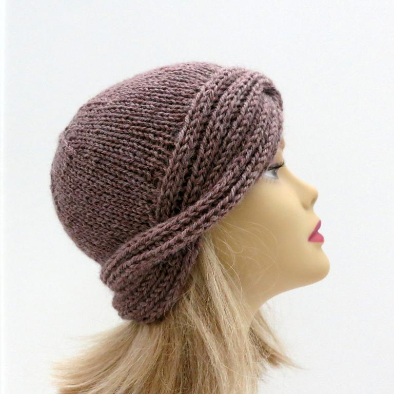 knitting patterns for hats downton nora vintage cloche hat pattern DVYZFZE