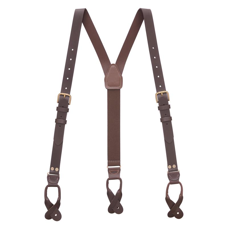 leather suspenders click to view color FBQUMOH