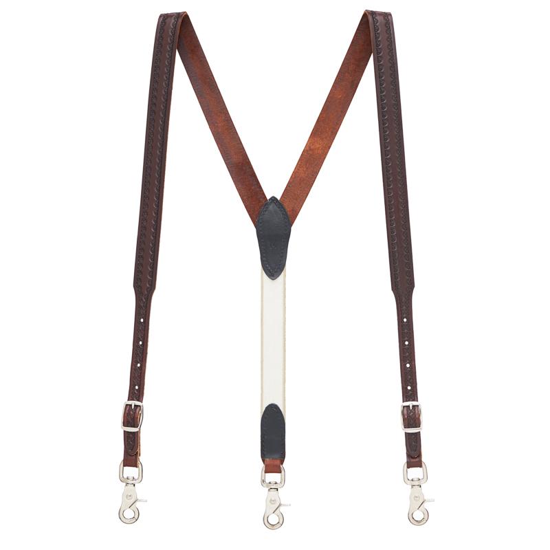 leather suspenders click to view color JBQFZJU