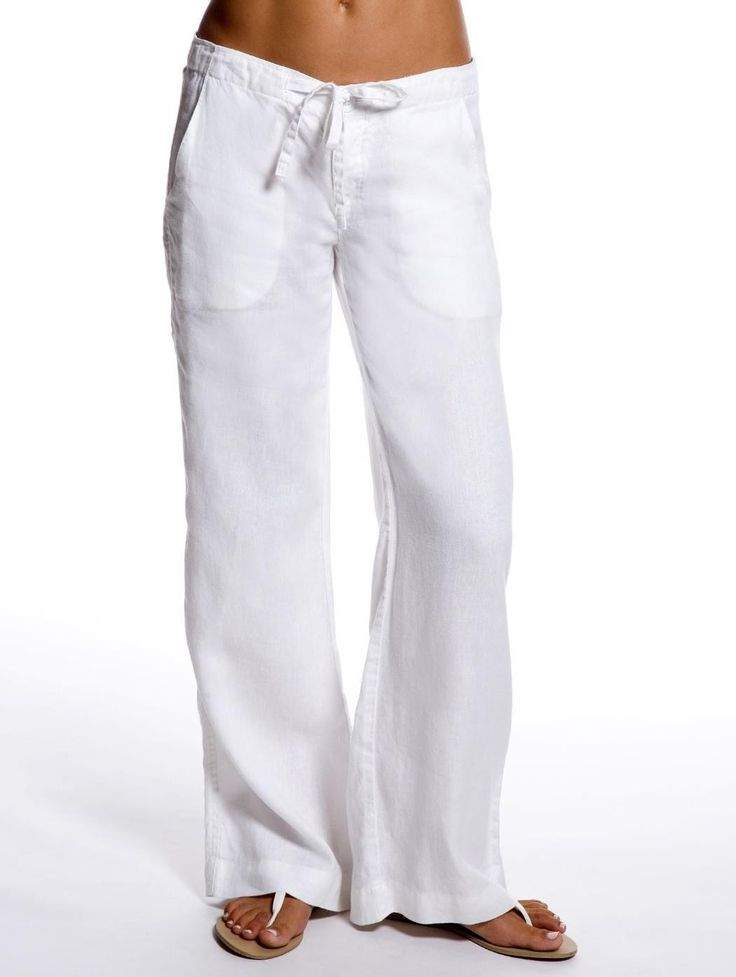 linen pants for women: the best outfits IQKYHFH