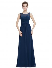 long evening dresses sleeveless long evening dress with lace bodice LIJQDYW