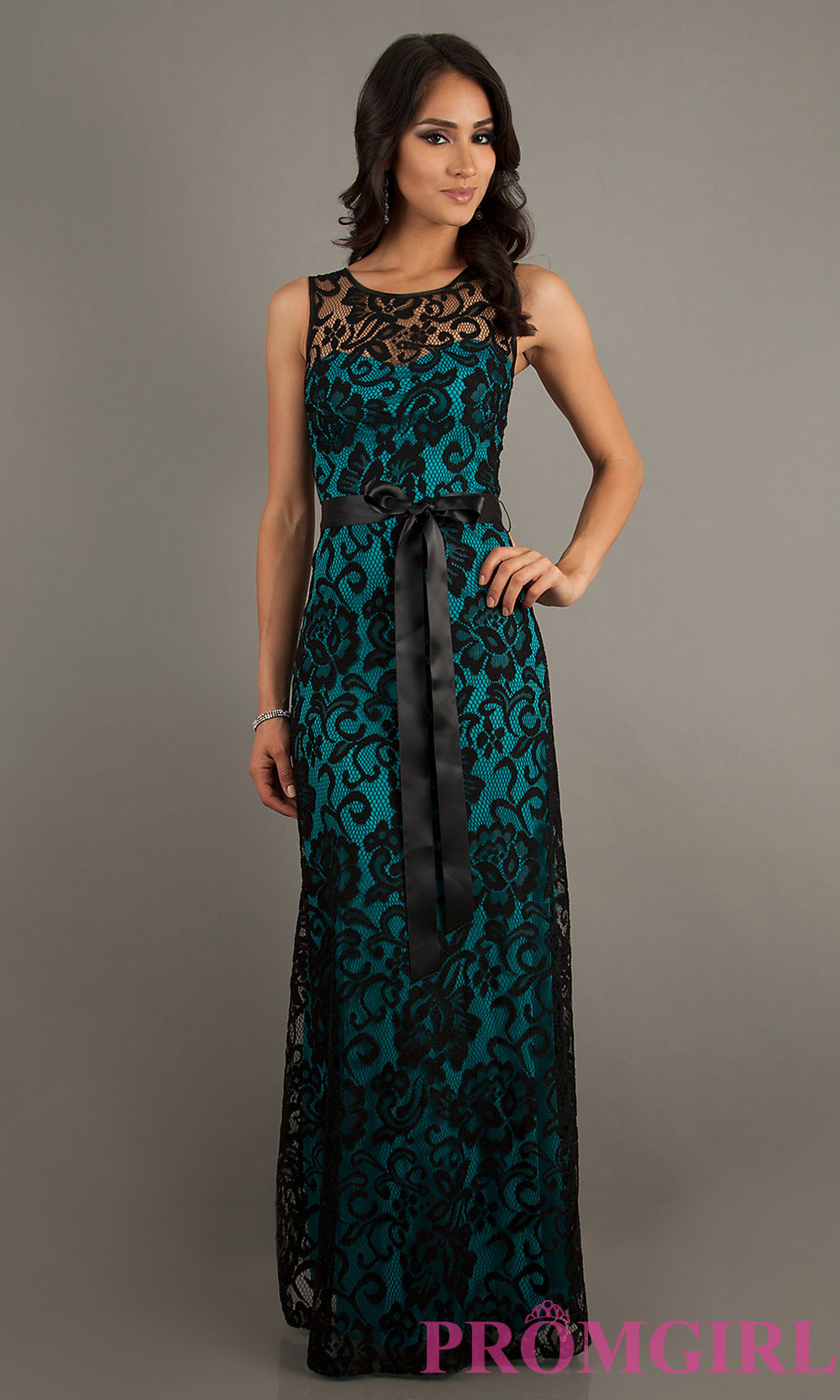 long lace dress hover to zoom QVDDSHS