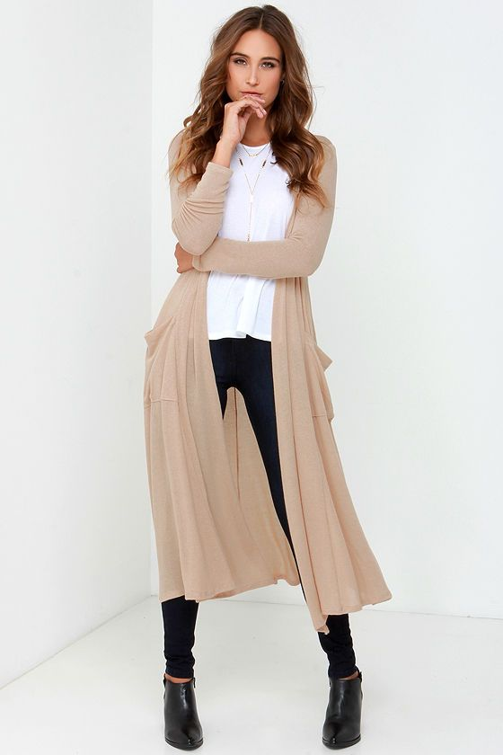 Fashion with long sweaters