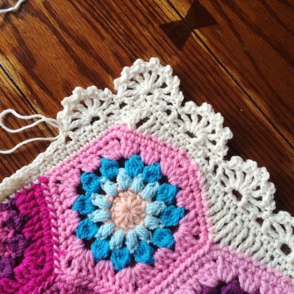 lovely crochet edging patterns u0026 ideas - hative UFJHYFB