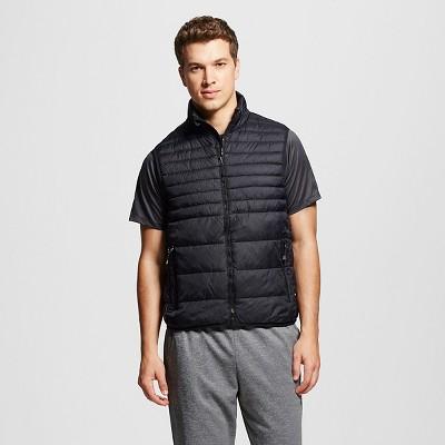 menu0027s lightweight puffer vest ... YNWOAUU