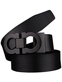 mens belts menu0027s smooth leather buckle belt ... NBMNHGD
