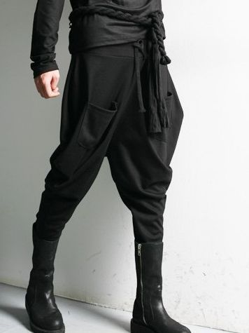 mens harem pants this fashion men pulling ropes double pockets long harem pants sells very  well in EHWMZCF