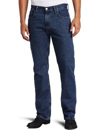 mens jeans menu0027s 505 regular fit jean, dark stonewash, 42x29 IAXLYZU