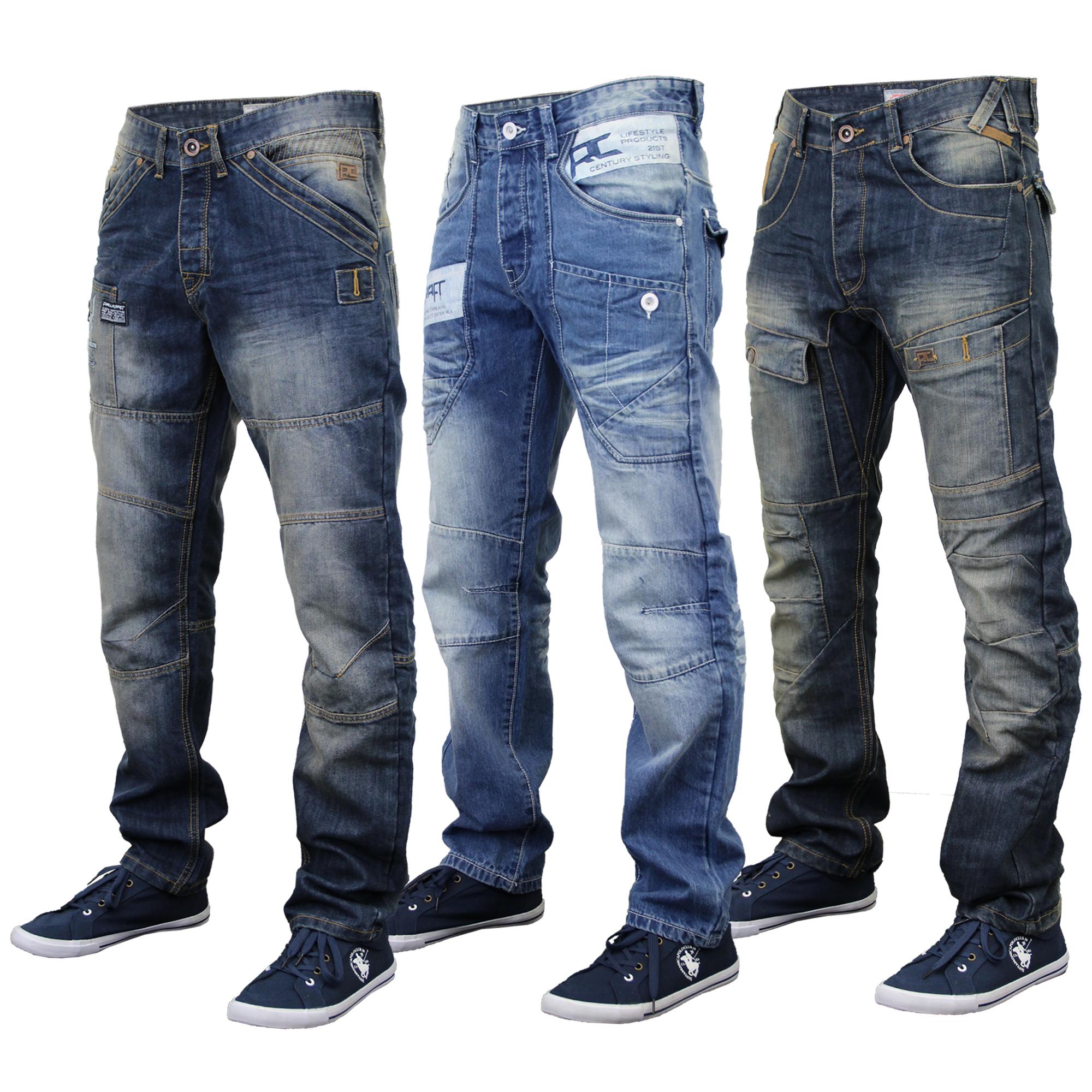 mens jeans mens-jeans-rawcraft-denim-tapered-straight-leg-bottom- IIBADPU