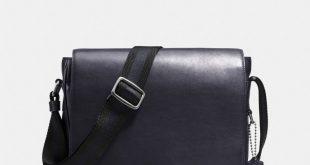 mens messenger bags metropolitan map bag in sport calf leather SCHHGVW