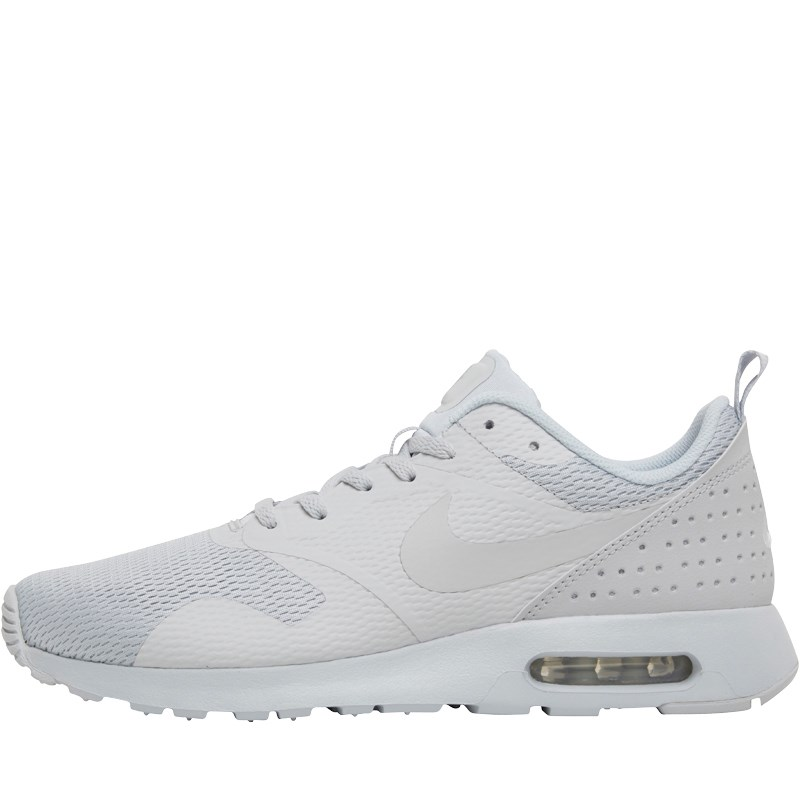 mens nike trainers nike mens air max tavas trainers pure platinum BTVJSZW