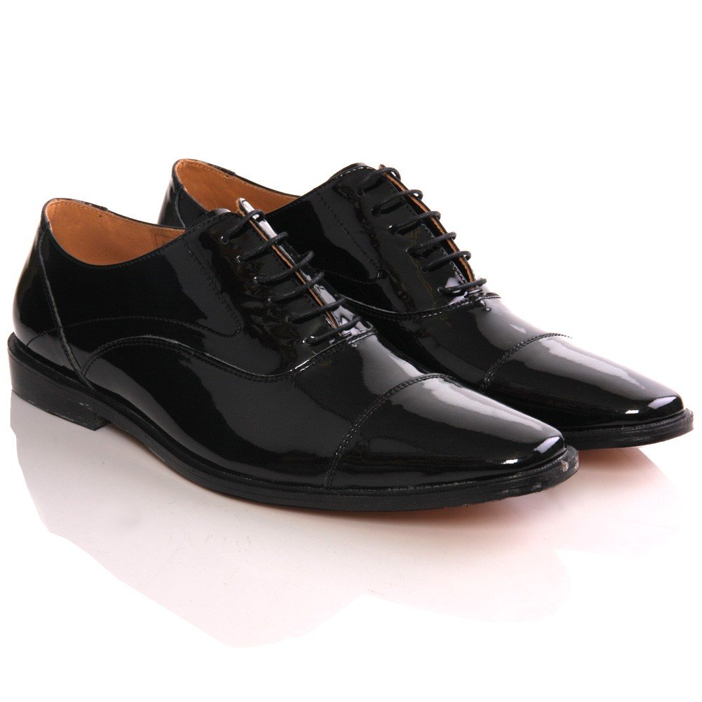 mens u0027kiveu0027 laced up leather office shoes PYOHZUC