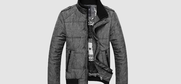 mens winter coats menu0027s wedone pourpoint leisure winter coats DRSQPXD