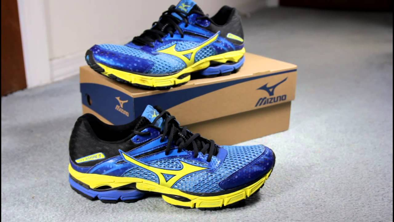 Mizuno running shoes – look for wave prophecy 4!