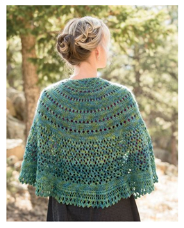 monsoon knitted shawl kit KZVGDNR