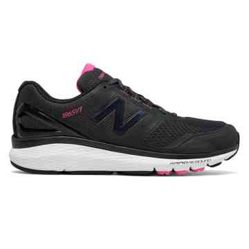 new balance womens shoes new balance pink ribbon 1865, black with white u0026 komen pink NSOHNEX