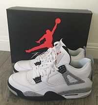 nike air jordan iv, (white cement colorway) YPBXJSU