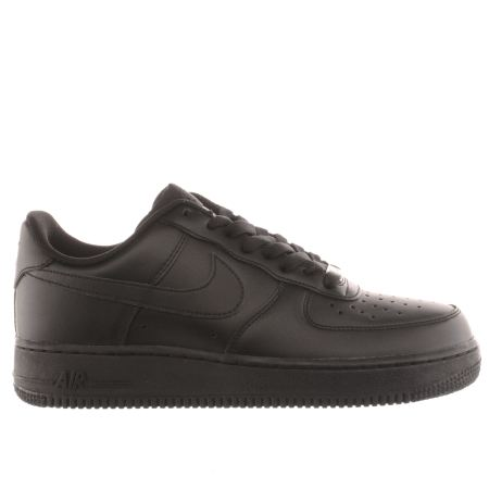nike black trainers nike air force 1 07 1 ... WGXMPLY
