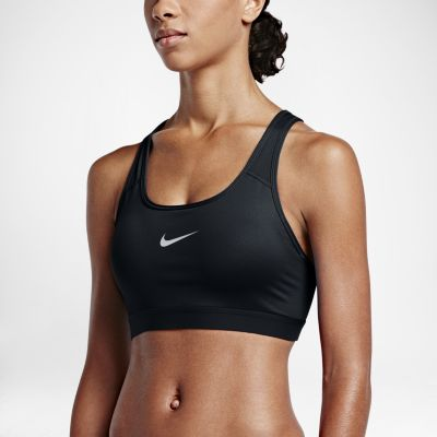 nike classic padded womenu0027s medium support sports bra. nike.com HAZYZZJ