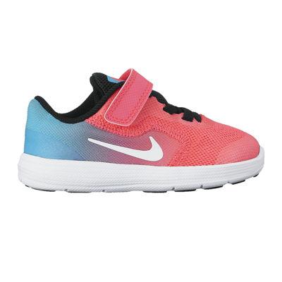 nike girls shoes nike revolution 3 girls running shoes - toddler WDCJGBI