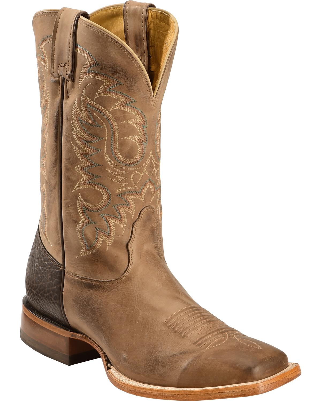nocona boots nocona legacy series vintage cowboy boot, tan, hi-res GWRGPEY