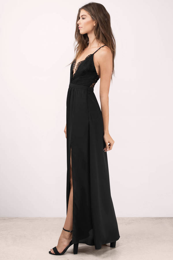 opposites attract black lace maxi dress opposites attract black lace maxi  dress ... TLEJCSV
