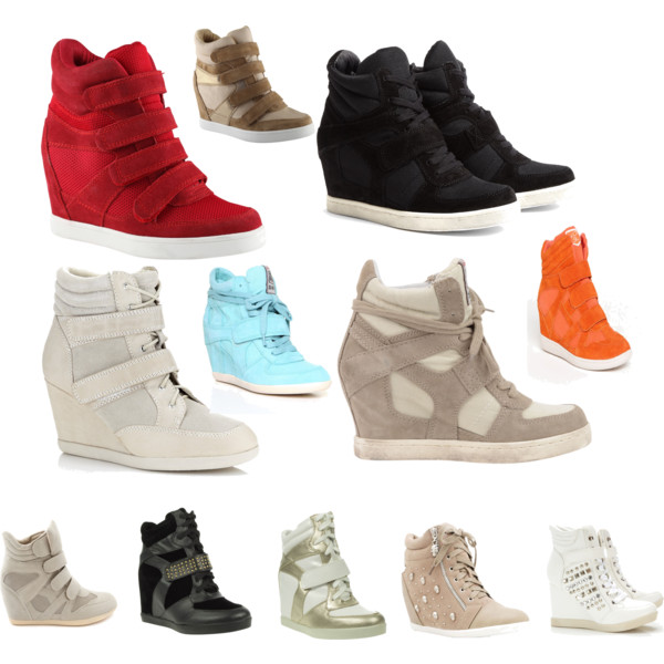 over 40 fashion - would you wear a wedge sneaker? ANDZONX