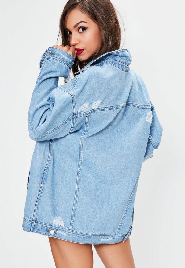 oversized boyfriend fit denim jacket. $86.00. previous next IXVTUAV