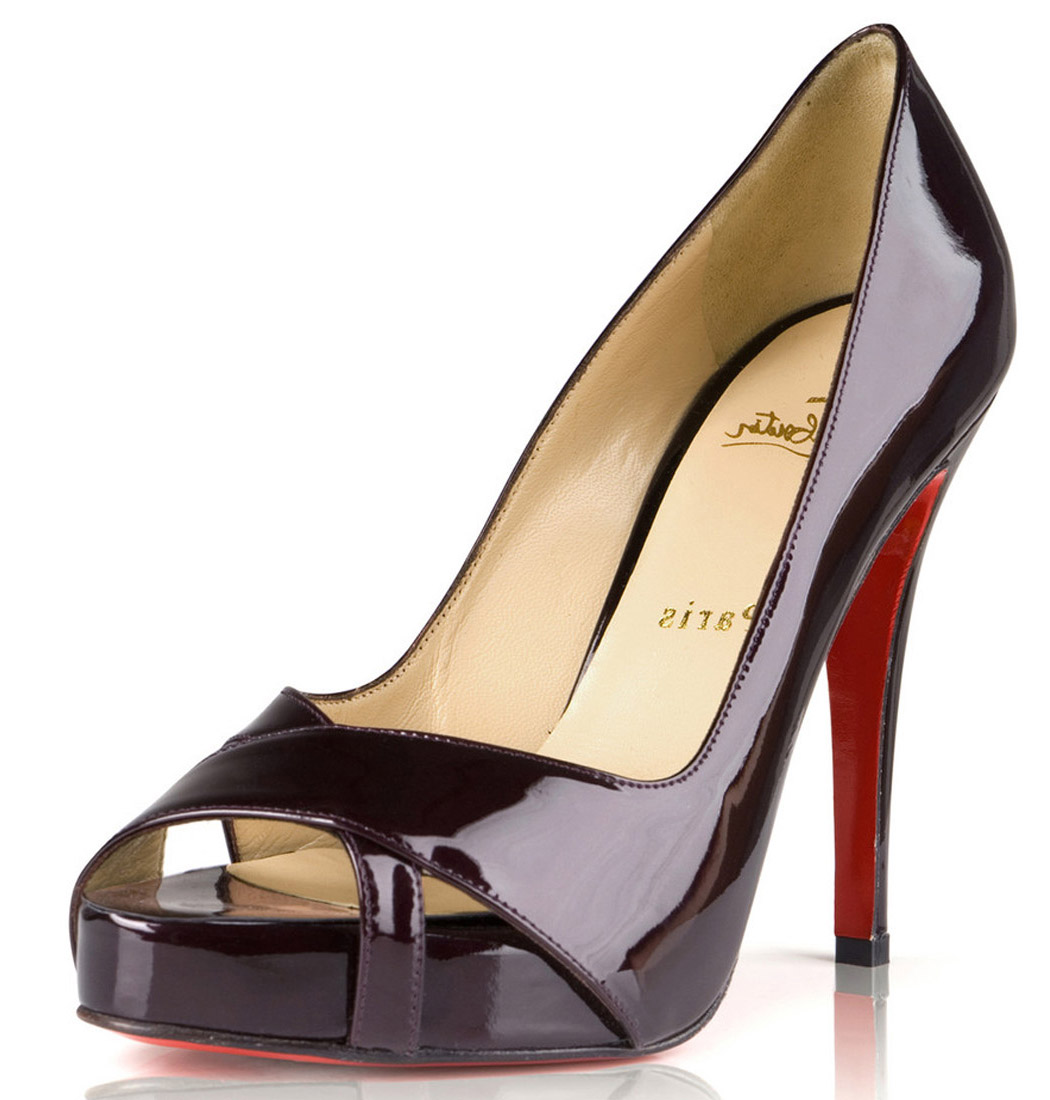 peep toes christian louboutin peep-toes dark red, cheap christian louboutin,christain  louboutin,finest UHJBXDU