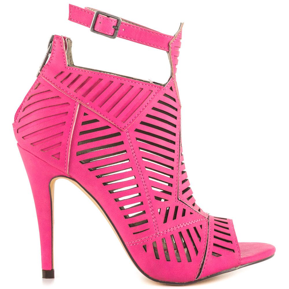 pink heels michael antonio jyst - pink pu AIXUMEP