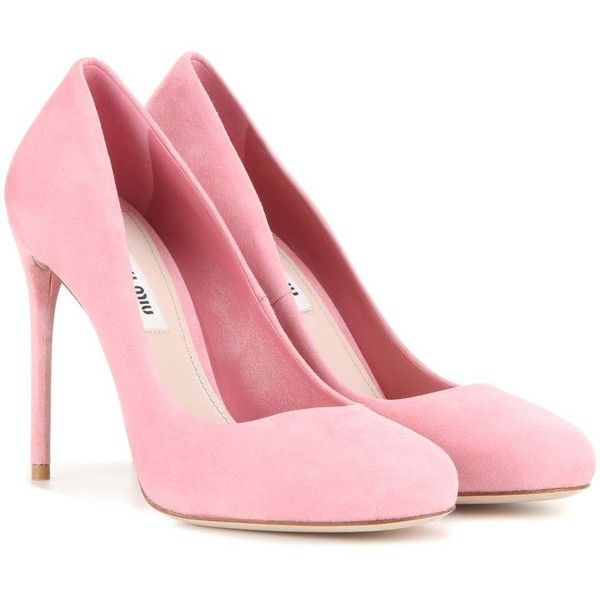 pink heels ... the classic pump this season in cupcake-pink suede. crafted in italy,  this pair KKDCQCX