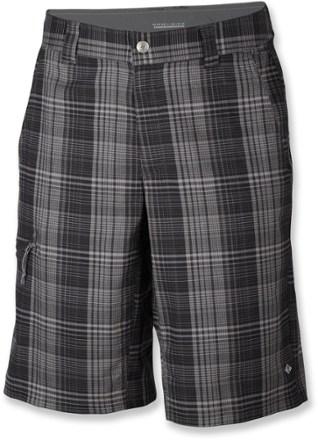 plaid shorts grill/coal DGRAKLG