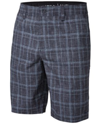 plaid shorts ou0027neill menu0027s exec plaid hybrid 21 PANVROY