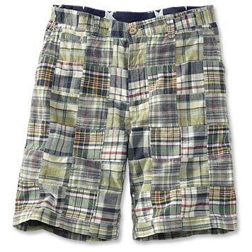 plaid shorts vintage olive patchwork shorts TMEVWQZ