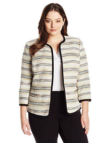 plus size blazers 5-tweed-plus-size-blazers-for-work-1 QWOSYOZ