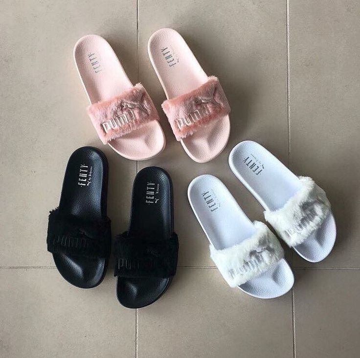 Puma slippers puma x fenty slides EBJTWKQ