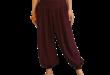 purple aladdin pants GXFGOUL
