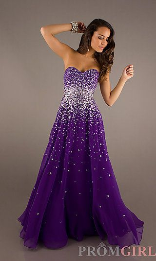 purple prom dresses strapless beaded gowns, mori lee long strapless dresses- promgirl on imgfave HHGVZBN