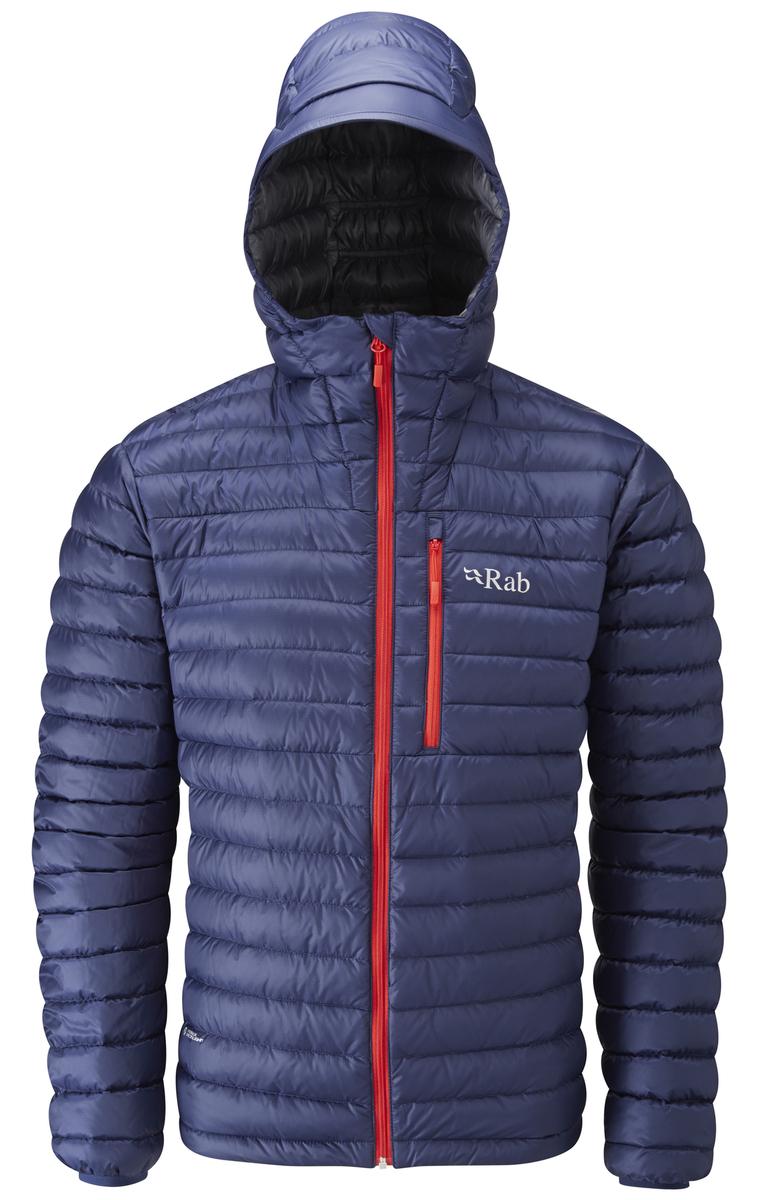 rab jackets taunton leisure rab menu0027s microlight alpine jacket - twilight - taunton  leisure HNVXIWT